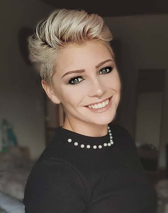 32 Modern Short Blonde Haircut Ideas to Try in 2018