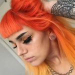 Orange & Yellow Hair Color Combinations in 2021