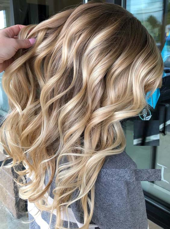 44 Perfect Rooted Blonde Highlights for Women 2018