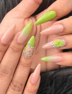 Pretty Nude Nail Art Designs in 2021