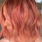 Pretty Peach Hair Color Ideas for 2018