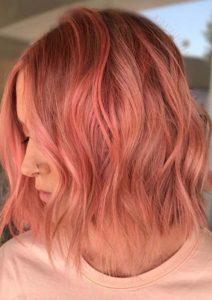 Pretty Peach Hair Color Ideas for 2018