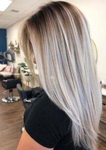 Pretty Sleek Shadow Blonde Hairstyles for 2021