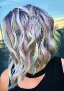 Rainbow Baby Hair Colors and Highlights in 2018