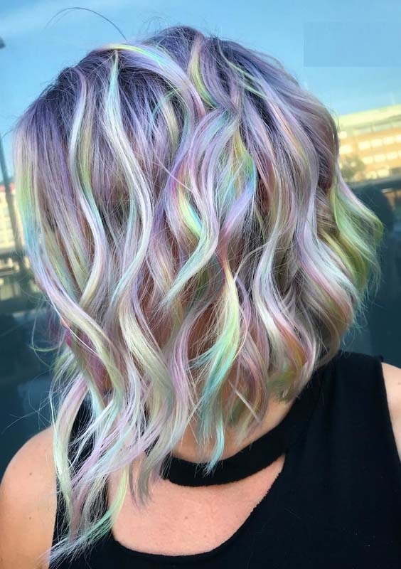 59 Amazing Rainbow Baby Hair Colors & Highlights to Sport in 2018