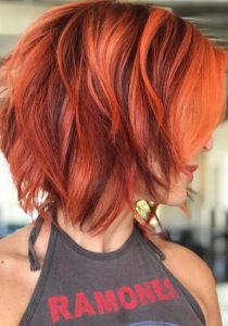 Red Hair Colors for Short Hair 2018