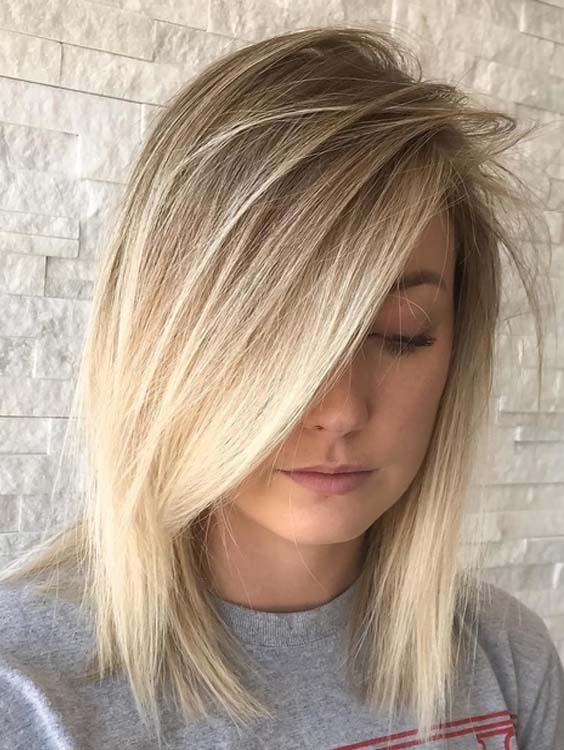 55 Gorgeous Shadow Blends for Short to Medium Haircuts 2018