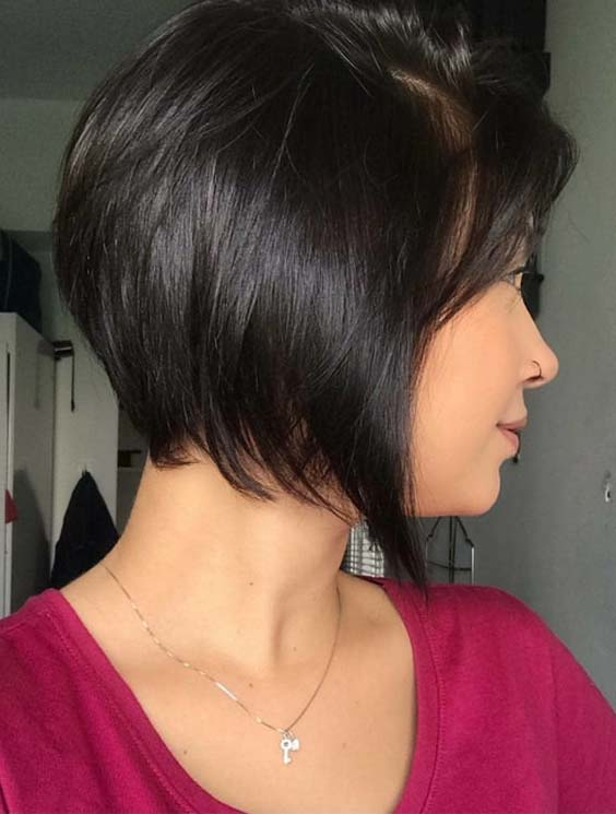 55 Best Short Black Haircuts for Women 2018