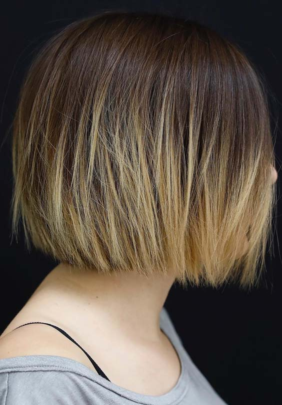 54 Modern Short Bob Haircuts for Women 2018
