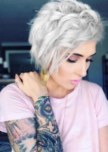 Short Curly Blonde Haircuts for 2018