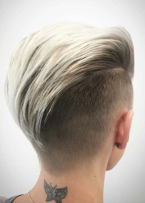 50 Charming Slicked Back Undercut Short Haircuts for 2021