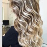 Soft Long Curls with Hottest Hair Colors for 2021