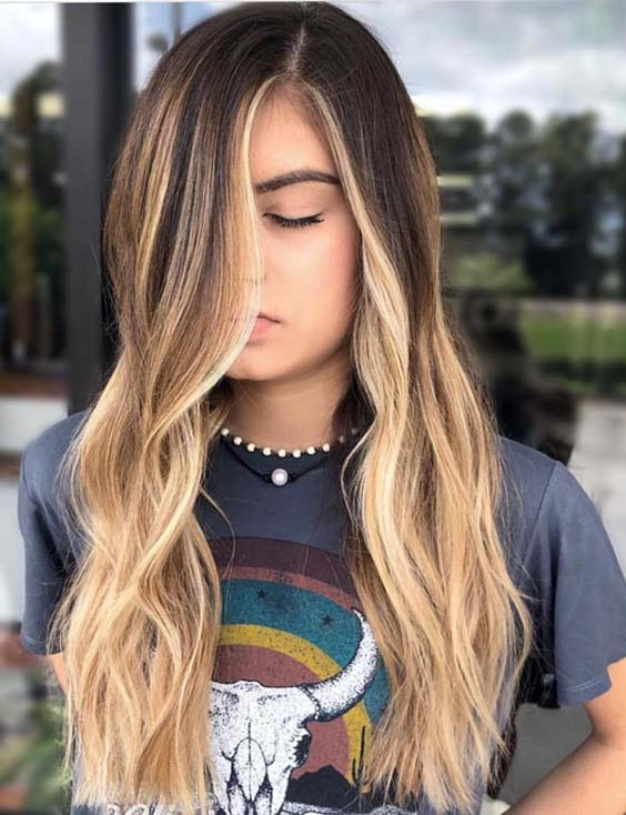 60 Stunning Balayage Ombre Hair Color Trends in 2018