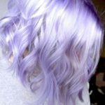 Stunning French Lavender Lob Hairstyles 2018