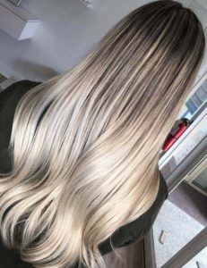 Stunning Hair Color Blends for Long Sleek Hairstyles for 2018