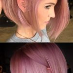 Stunning Pink Bob Haircut Styles for 2018