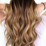 Sweet Caramel Balayage Hair Color Ideas in 2021