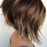 Textured Angled Bob Haircuts in 2021