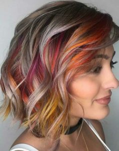 Tremendous Colors for Short to Medium Haircuts in 2018