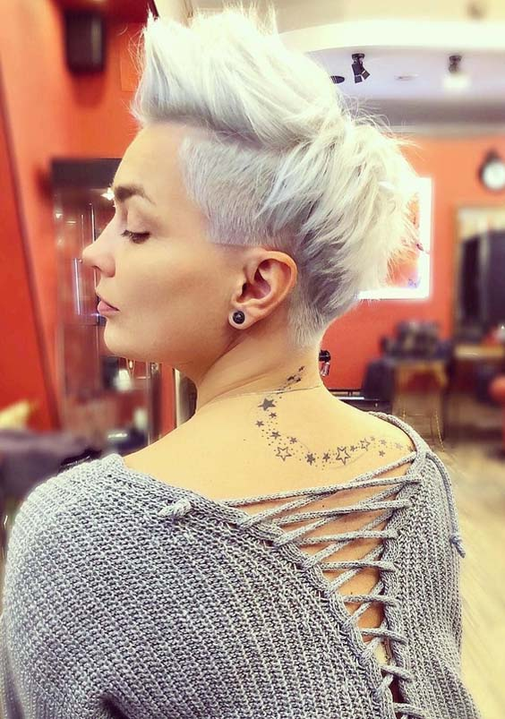 46 Trendy Short Blonde Pixie Haircuts for 2018