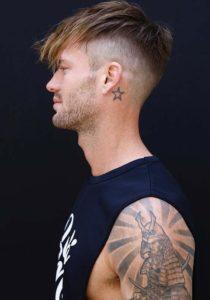 Undercut Short Hair Ideas for Men 2018