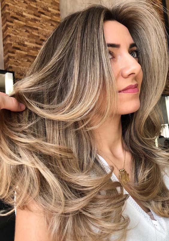 48 Wonderful Bronze Blonde Hair Color Ideas for 2021