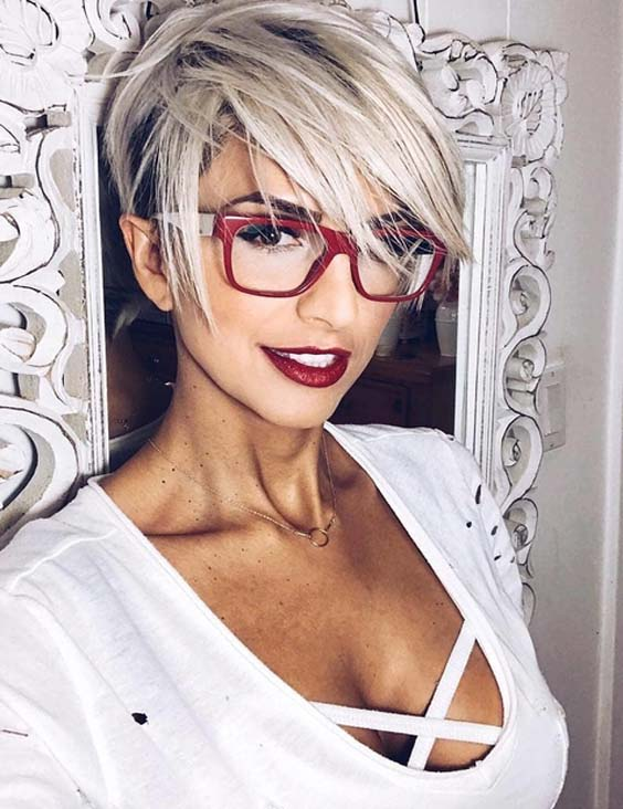 52 Wonderful Short Blonde Pixie Haircuts for 2021