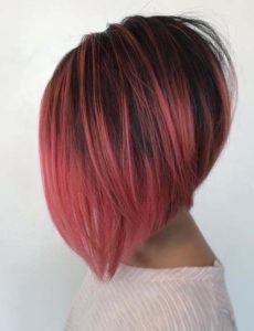Angled Bob Red Haircuts for 2021