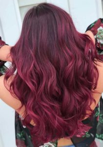 Auburn Red Hair Color Shades for 2021