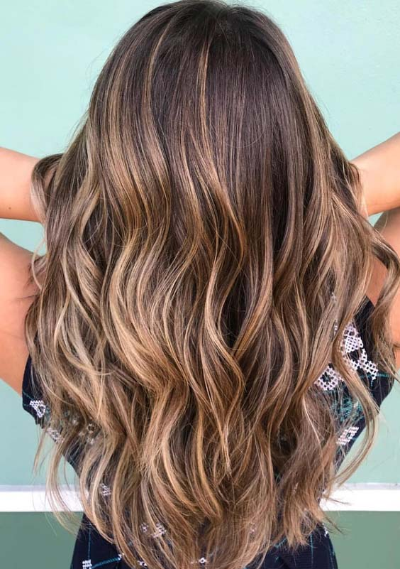 48 Beautiful Brown Sugar Hair Color Shades in 2018