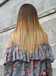Brunette with Blonde Highlights in 2018