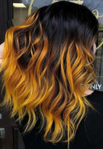 Citrus Hair Color Shades for 2018