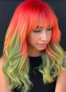 Creative Layered Haircuts & Color Combinations in 2021