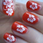 Cute Flower Nail Art Designs in 2021