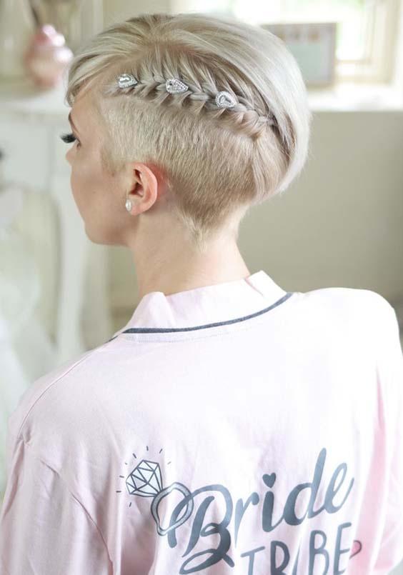 45 Cute Little Braids for Short Hair Women in 2021