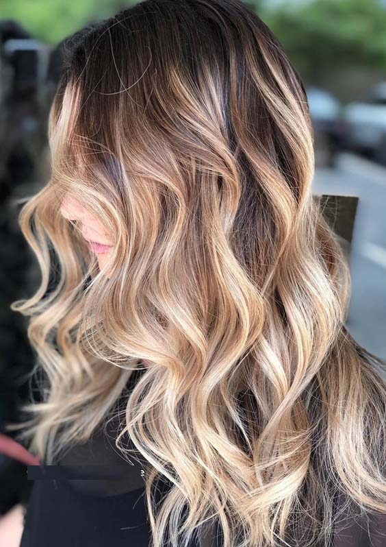 43 Best Dimensions Of Rooted Blonde Highlights for 2021