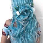 Elegant Blue Bridal & Wedding Hairstyles for 2021