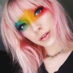 Fabulous Pink Hair Colors & Haircuts with Bangs 2018