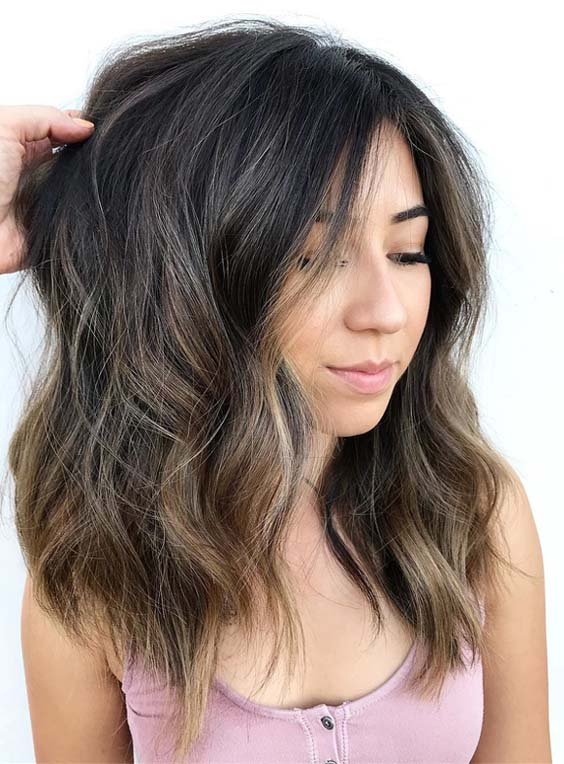 47 Gorgeous Foilyage Hair Colors & Highlights for 2021