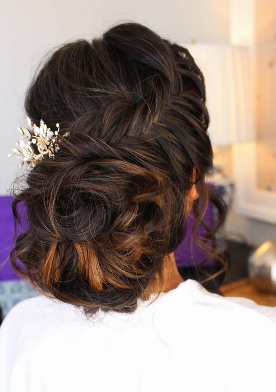 40 Awesome French Fishtail Updo Hairstyles for 2021