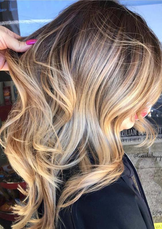 31 Amazing Golden Blonde Highlights for 2018