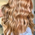 Gorgeous Golden Long Waves Hairstyles for 2018