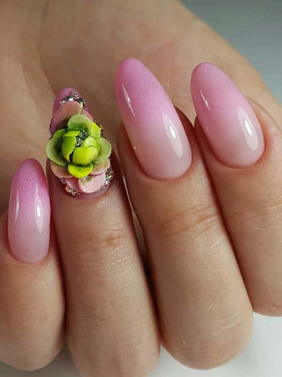 36 Gorgeous Pink Nail Art Designs to Try in 2018