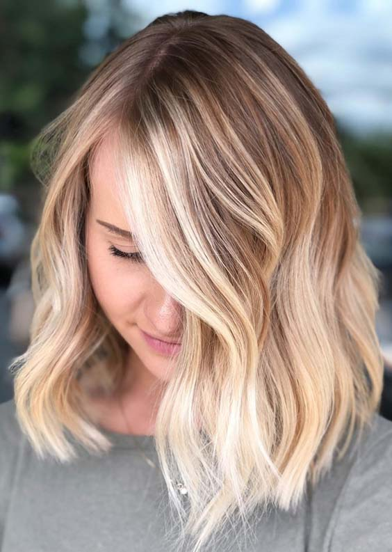 31 Gorgeous Rooted Blonde Hair Color Shades for 2018