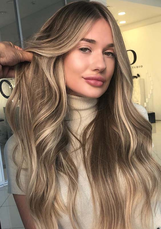20 Gorgeous Sandy Blonde Hair Long Hairstyles in 2021