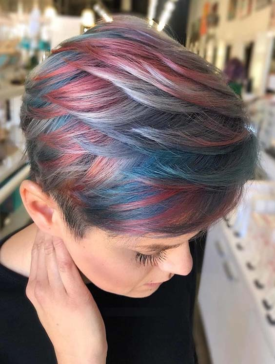 28 Best Short Pixie Haircuts & Hair Color Trends for 2021