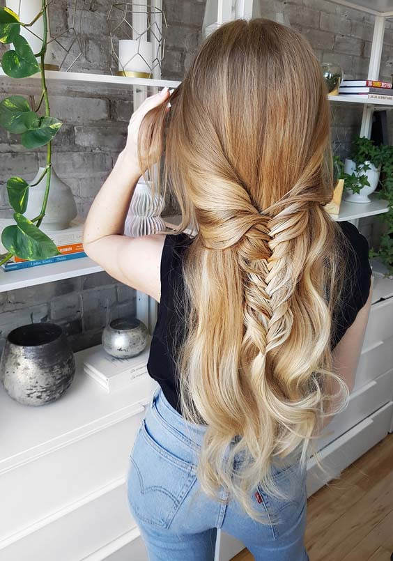 27 Modern Long Blonde Braided Hairstyles to Create in 2018