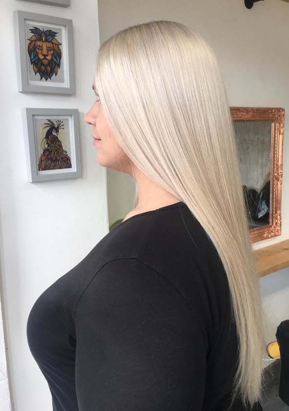 49 Lovely Long Straight Thick Hairstyles Ideas for 2021