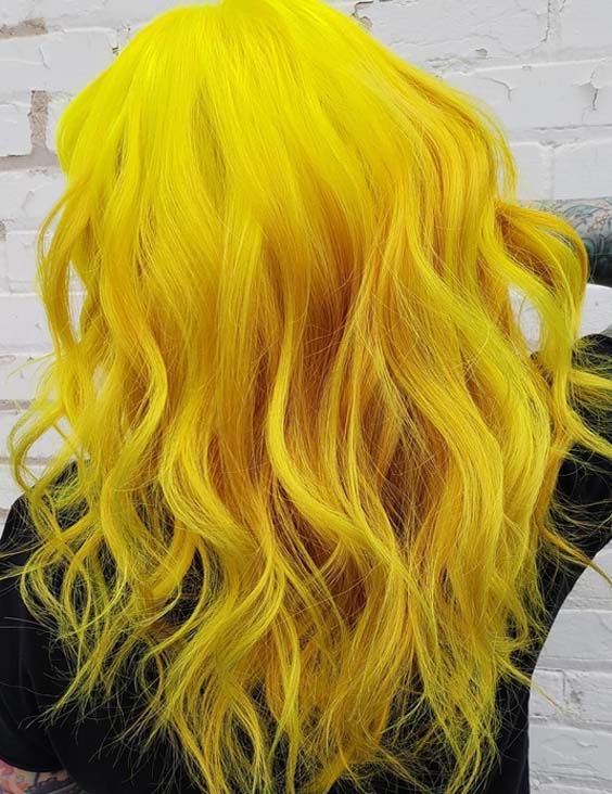 33 Multi Dimensional Yellow Hair Color Trends in 2018