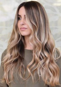 Natural Balayage Highlights for Women 2018
